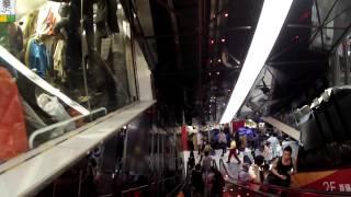 Путешествие в Китай: Гуанчжоу рынок одежды.