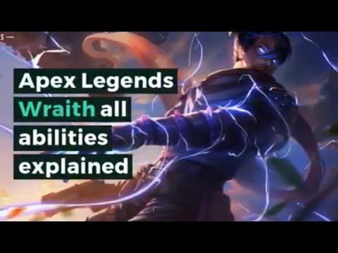 Apex Legends Wraith all abilities explained