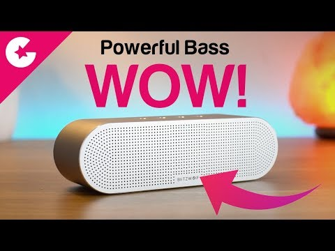 Best Bluetooth Speaker of 2018 With Powerful Bass - BlitzWolf BW-AS1 (Review)