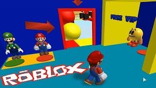 RoBlox OBBY просто Красивый Побег:) Детское видео Игровой мультик Let's play