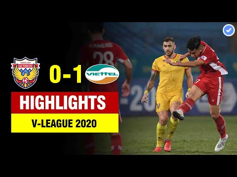 Highlights Hồng Lĩnh Hà Tĩnh 0-1 Viettel | Trọng Đại nã đại bác sấm sét ghi siêu phẩm thế giới