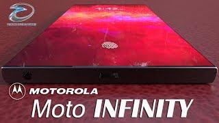 Motorola Moto Infinity Concept with Flippable Camera & 99% Screen to Body Ratio