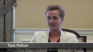 Том Фелтон, Tom Felton Plays Draco Malfoy for the Last Time 2011