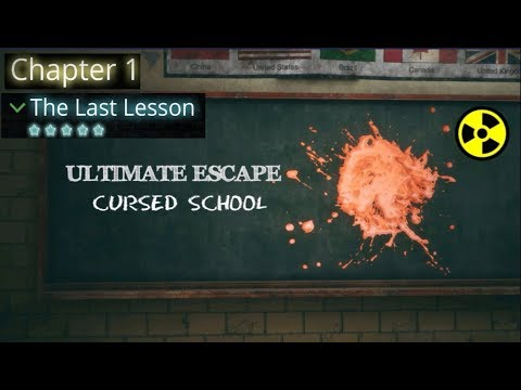 Ultimate Escape: Cursed School  walkthrough.