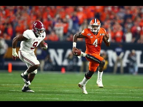 Clemson Vs. Alabama 2017 College Football National Championship Highlights