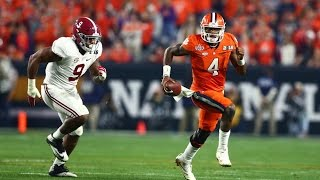 Clemson Vs. Alabama 2017 College Football National Championship Highlights