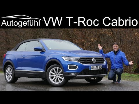 all-new Volkswagen T-Roc Cabriolet FULL REVIEW - SUV & Convertible, does that work?