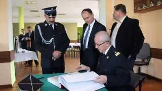 preview picture of video 'Wizyta Komendanta Głównego Państwowej Straży Pożarnej w Besku cz1'