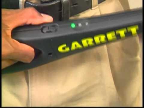 Detector de metales Garrett SuperWand