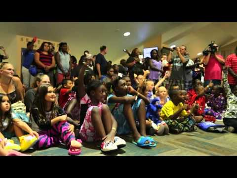 Video A Hope To Dream Stadium Sleepover EverBank Field