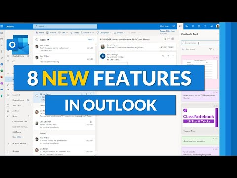 Microsoft Outlook new features  | 8 updates for Outlook 365 Desktop and Outlook Web for 2021