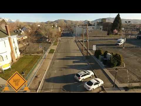 Construction Of Curry Street Project In Downtown Carson City To
