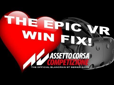 Great VR fix :: Assetto Corsa Competizione General Discussions