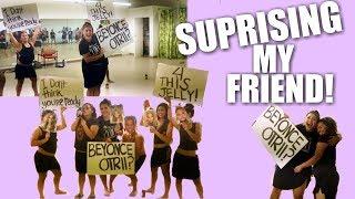 Surprising My Friend W Beyonce Otr Ii Ticket!