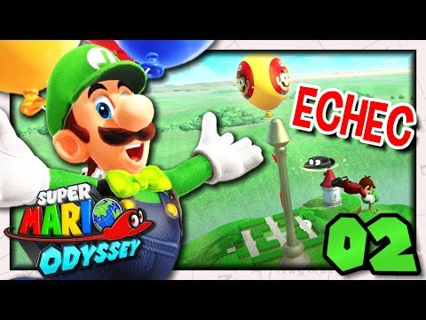 DOMMAGE ! ...| CHASSE AUX BALLONS LUIGI SUPER MARIO ODYSSEY