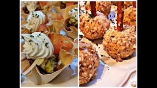 HOLIDAY APPETIZERS - EASY RECIPES