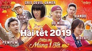 [OFFICIAL] Phim ngắn: ĐIỆP VỤ MÙNG 1 TẾT - Hài Tết 2019 - Cris, Pew Pew, Misthy, Độ Mixi, Rambo