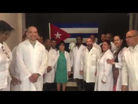 Profesionales cubanos en Botwana, celebran cultura cubana