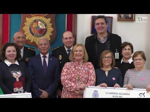 LA POLICÍA NACIONAL ENTREGA LA RECAUDACIÓN DE LA CARRERA NOCTURNA