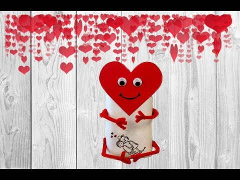 Как красиво упаковать подарок, сладкий подарок на 14 февраля