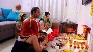 Our DIWALI Vlog 2019 | My FAMILY PICS | Diwali Celebrations, Decorations, Puja , Rangoli