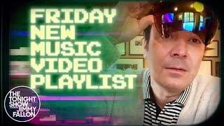 Jimmy Fallon's Friday New Music Video Playlist: Drake, Julia Michaels, Majid Jordan | Tonight Show
