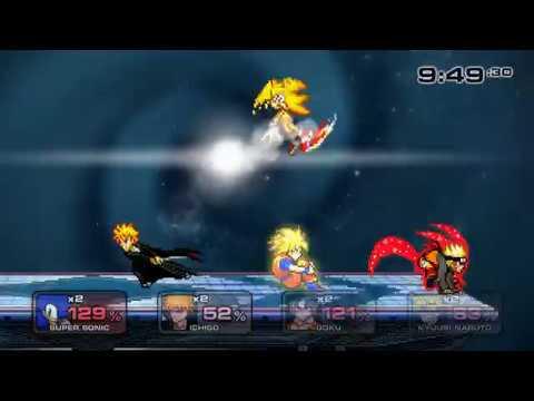 Sage of Six Path Naruto Vs Ultra Instinct Goku  SSF2 Mods