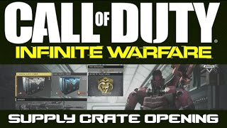 Call of Duty: Infinite Warfare Supply Drop Opening +Bonus Hack - That Goth Guy Games