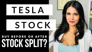 Tesla Stock (TSLA) Buy Now or Wait until after Stock Split?