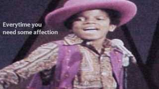 Jackson 5 (Come 'Round Here) I'm the one you need Lyrics on Screen