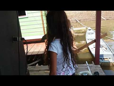 Nathália Pescou um Bodó em Autazes