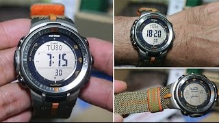 Casio Protrek PRW-3000B-5 CLOTH BAND - Unboxing