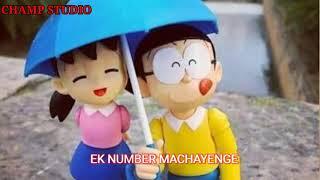 Dusre ke pyar mein girne se tujhe status 💓// Nobita 🧑 ana Shizuka 👧 Status 💓//Doraemon 💓