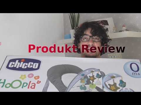 Chicco Hoopla Wippe   Unboxing + Livetest   German  