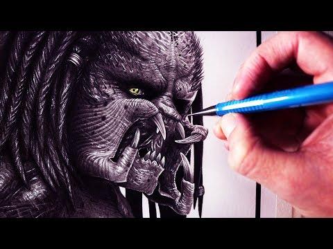 Let's Draw THE PREDATOR - FAN ART FRIDAY
