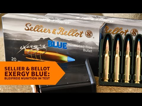 Sellier & Bellot: Test & Video: Sellier & Bellot eXergy Blue in .308 Winchester − was kann die bleifreie Jagdmunition?