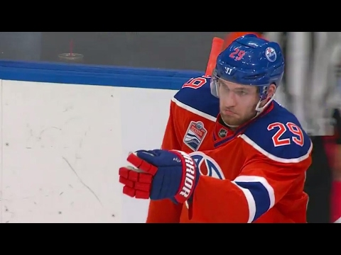Oilers jump on Avalanche mistake for nice passing play goal