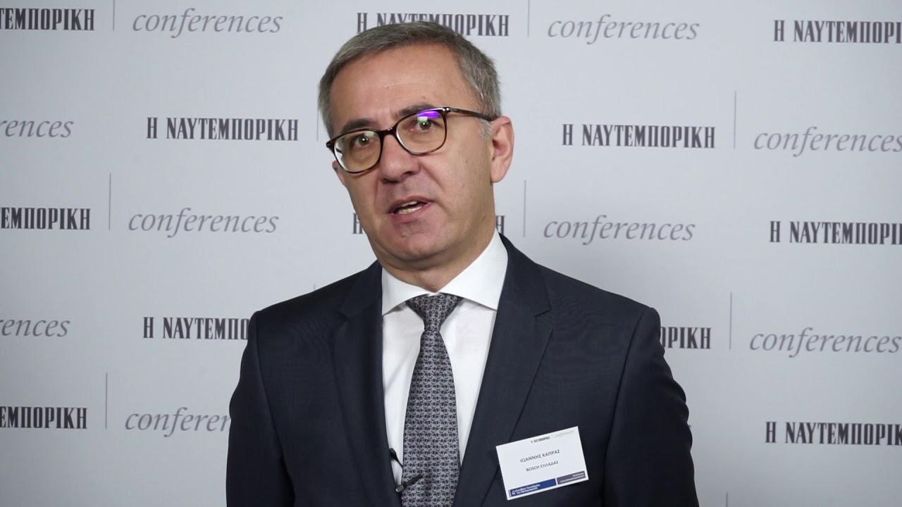 Ιωάννης Κάπρας, Διευθύνων Σύμβουλος, Βοsch Eλλάδας