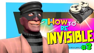 TF2: How To Be Invisible #3 (pl_frontier Griefing) [FUN/F2P]