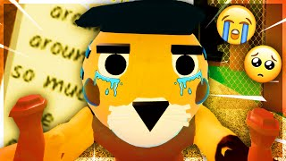 TIGRY'S SAD & SECRET PAST REVEALED.. (All Tigry Notes) | Roblox Piggy