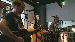 """Anti-Flag """"Power To The Peaceful"""" & """"Racists"""" Live at Creep Records Store, Philadelphia, PA 11/3/17"""