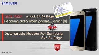 How To Unlock Samsung SM-J727T1 V7 0 With Z3x Reading data