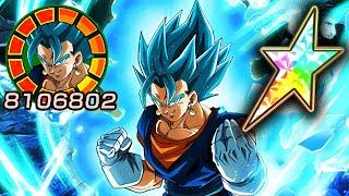 100% POTENTIAL SYSTEM LR TRANSFORMING VEGITO BLUE SHOWCASE! Dragon Ball Z Dokkan Battle