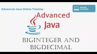 Java programming Tutorial for Advanced User - BigInteger and BigDecimal