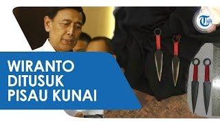 Tusuk Wiranto, Pelaku Diduga Gunakan Senjata Mirip Pisau Kunai Red Ninja Naruto