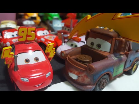 Disney Pixar Cars 3 Mater With Lightning Bolt (Race Fan #95, Target First-Look) Review