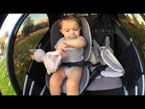 Burley d'lite Child Trailer / Jogger / Stroller Review 2013 version