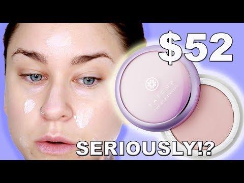 TATCHA SILK CANVAS FACE PRIMER! Review/Demo/Wear test! | Beauty Banter