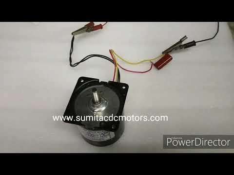 AC Synchronous Inline Gear Motor