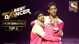 Subhranil और Adnan ने दिया एक Cheerful Performance! | India's Best Dancer | Best Of Top 5